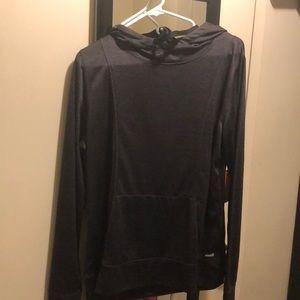 Avía Dark Gray active wear hoodie
